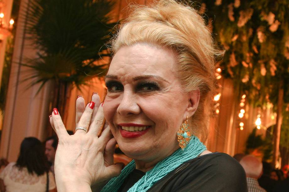 "A atriz Rogéria - A novela ""Babilônia"", da Globo -  07/03/2015"