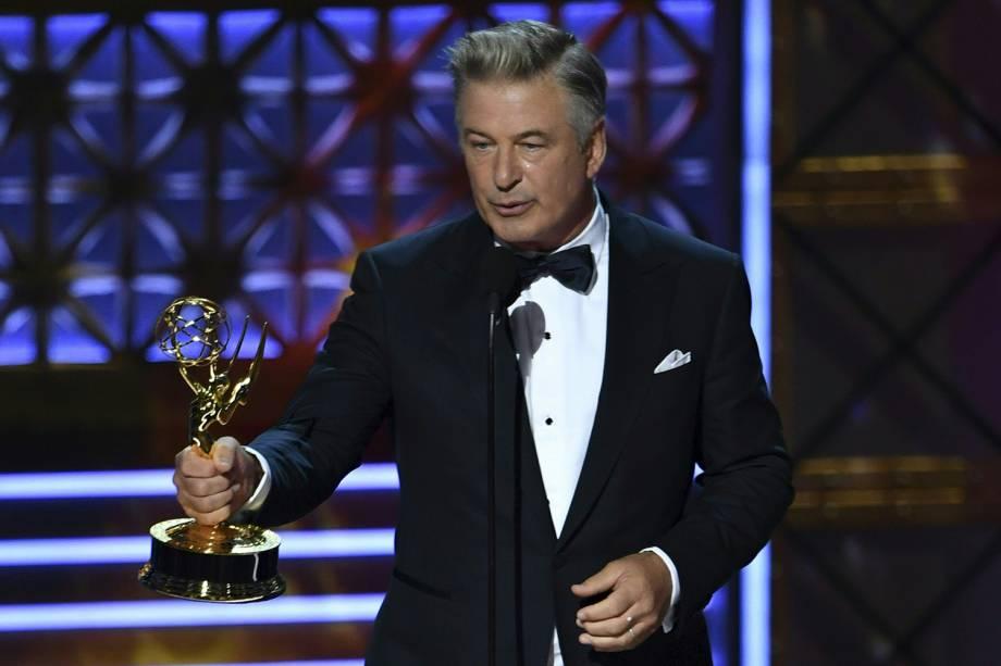 Alec Baldwin na 69º premiação Emmy Awards, em Los Angeles - 17/09/2017