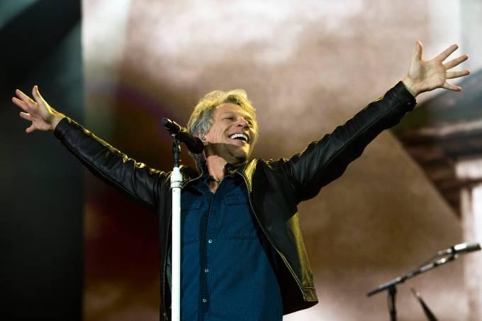 Bon Jovi se apresenta no SP Trip