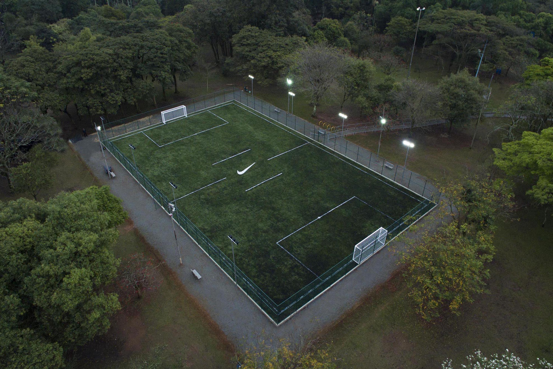 Campo de futebol Parque Ibirapuera