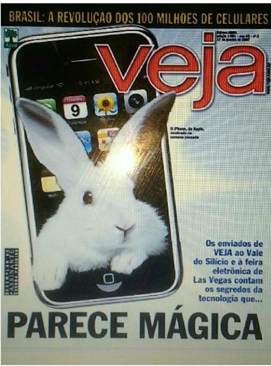 Edição de 2007 apresentava aos leitores o revolucionário iPhone original