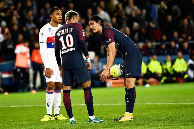 Neymar e Cavani