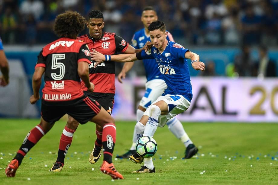 Partida entre Cruzeiro e Flamengo, válida pela final da Copa do Brasil 2017, no Estádio do Mineirão (Estádio Governador Magalhães Pinto), em Belo Horizonte (MG) -27/09/2017