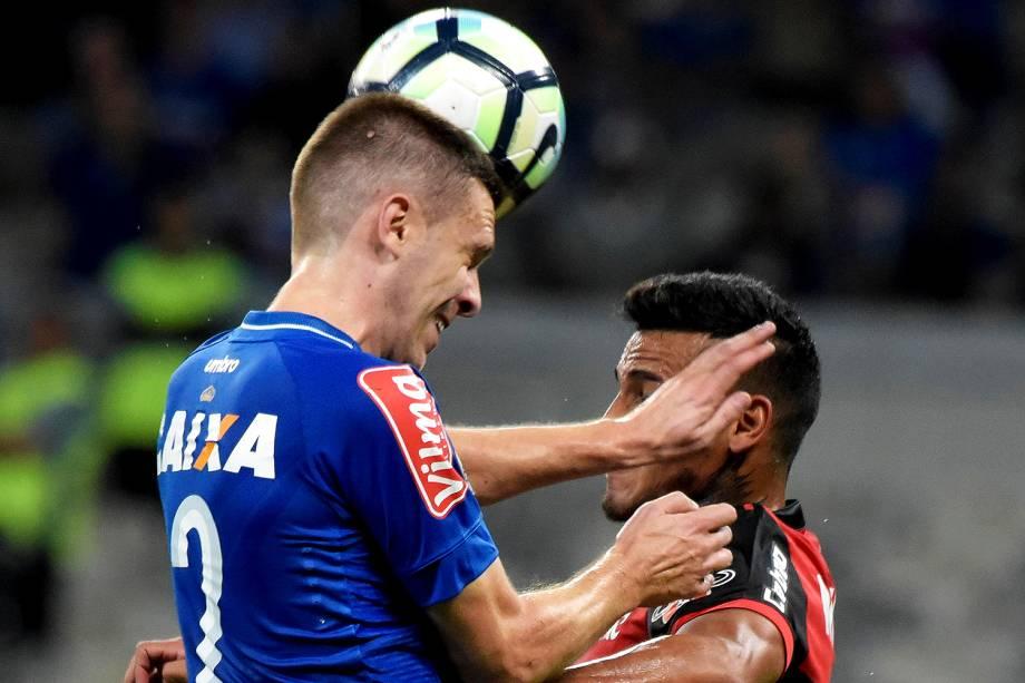 Partida entre Cruzeiro e Flamengo, válida pela final da Copa do Brasil 2017, no Estádio do Mineirão, em Belo Horizonte (MG) - 27/09/2017