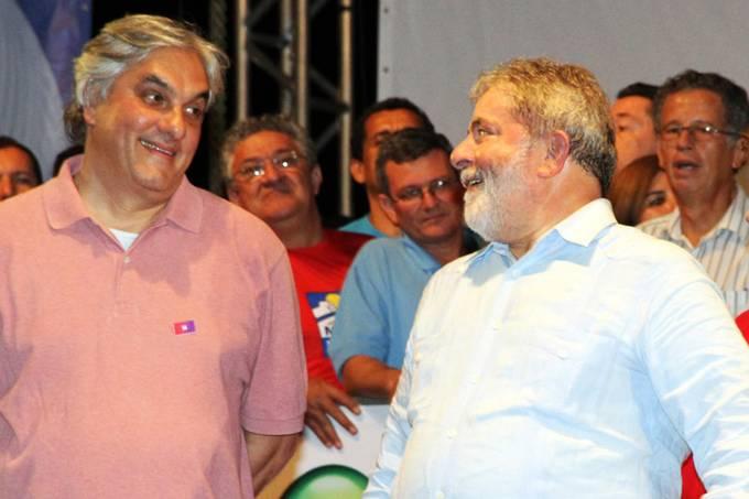Delcidio com Lula 24/08/2010