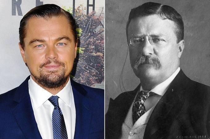 Leonardo DiCaprio e Theodore Roosevelt