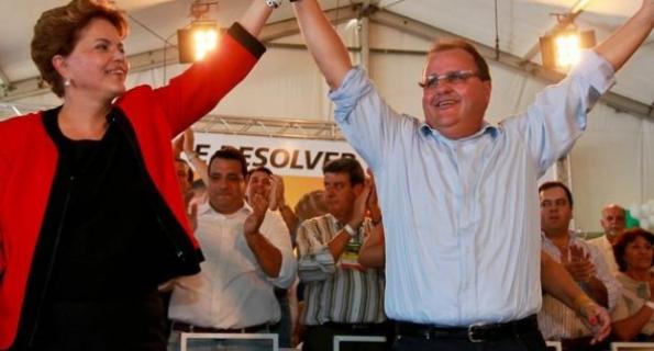 Dilma Rousseff e Geddel Vieira Lima
