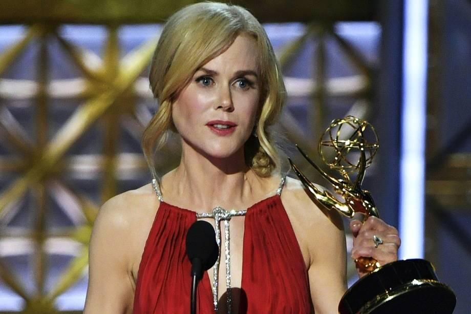 Nicole Kidman na 69º premiação Emmy Awards, em Los Angeles - 17/09/2017