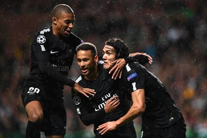 Liga dos Campeões – Celtic x PSG