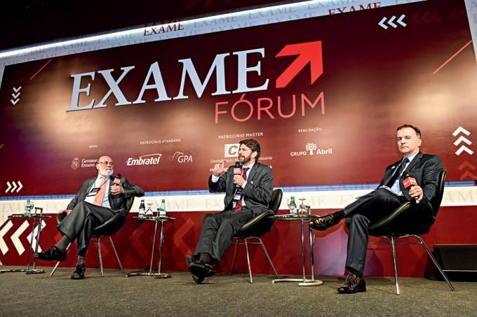Travessia – Bolívar Lamounier e Ricardo Sennes (sendo entrevistados por André Lahóz, diretor de EXAME) debateram as tendências para as eleições