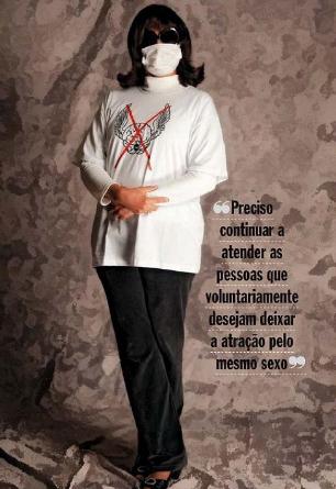 Rozângela Alves Justino, em entrevista de 2009 a VEJA