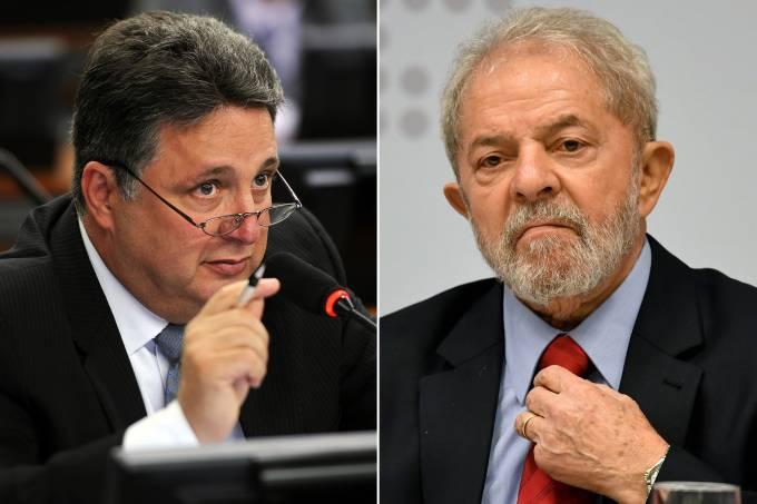 Anthony Garotinho e Lula