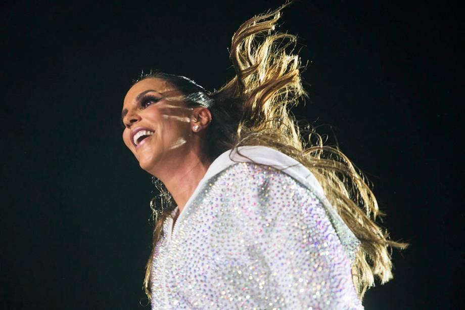 A cantora Ivete Sangalo se apresenta no primeiro dia de Rock in Rio