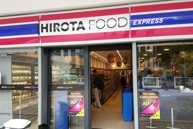Supermercado da rede Hirota Express