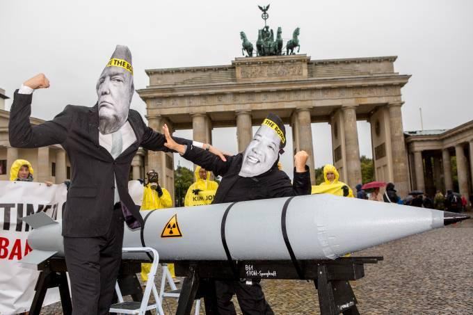 Protesto na Alemanha