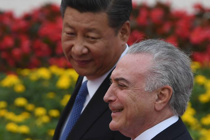 Michel Temer em visita na China