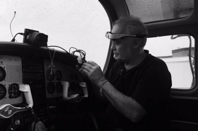 Diretor César Charlone nos bastidores do filme Feito na América