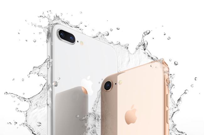 iPhone 8, resiste a água e poeira