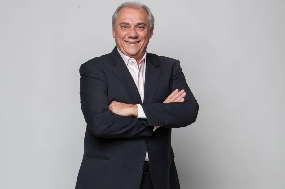 Jornalista Marcelo Rezende