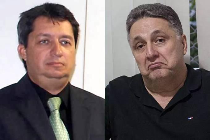 O juiz Ralph Manhães e o ex-governador Anthony Garotinho