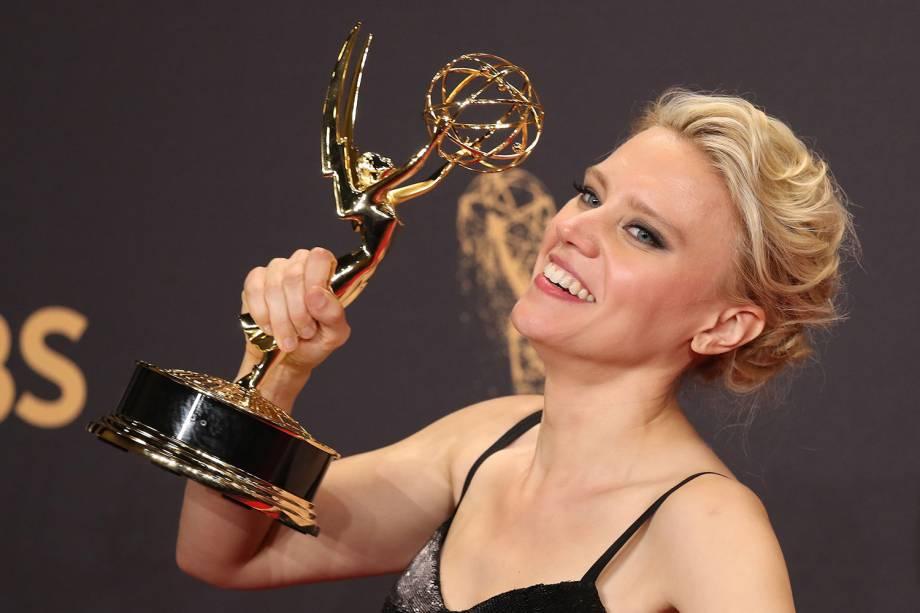 Kate McKinnon na 69º premiação Emmy Awards, em Los Angeles - 17/09/2017