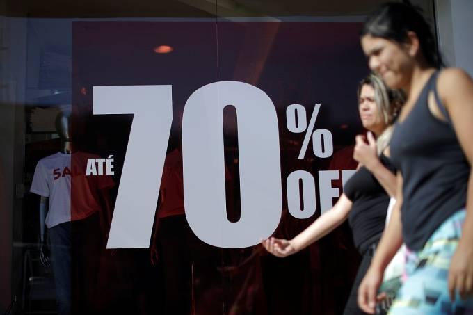 Economia – promoção – Lojas – Inflação
