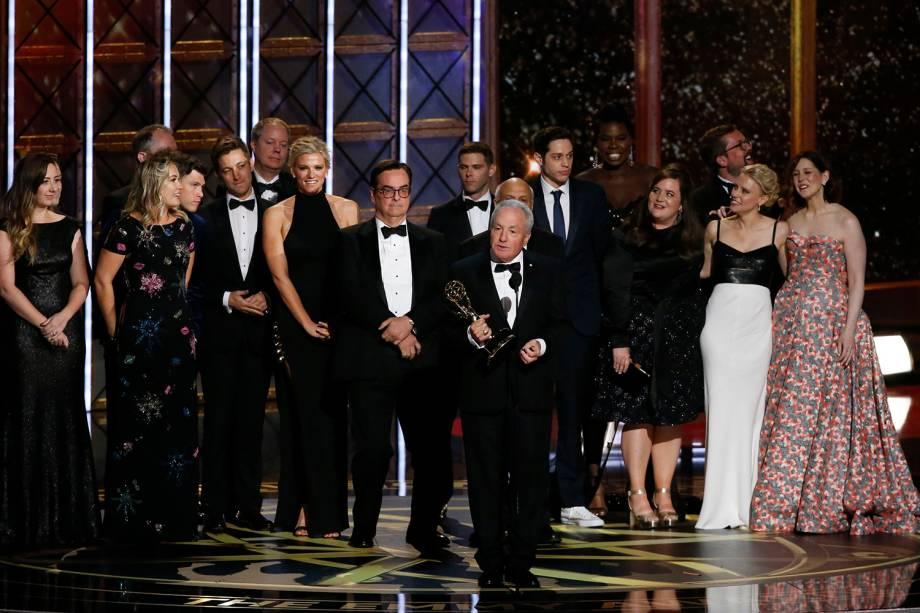 Lorne Michaels na 69º premiação Emmy Awards, em Los Angeles - 17/09/2017
