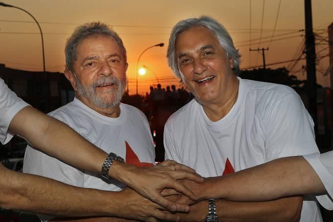 Delcidio com Lula  – 11/09/2014