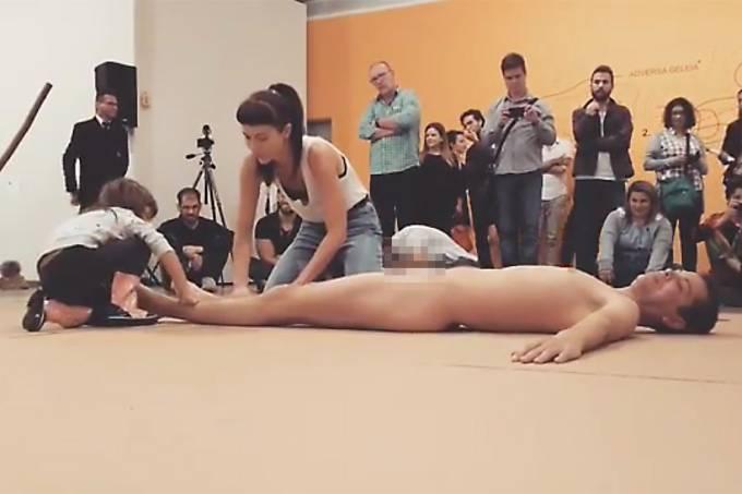 Performance de Wagner Schwartz no MAM, Museu de Arte Moderna