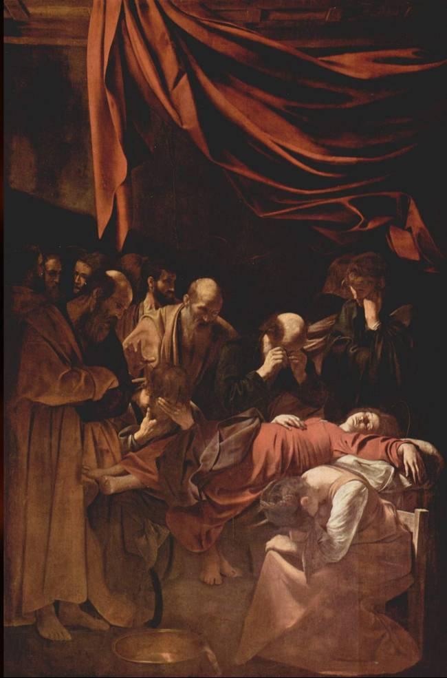 Morte da Virgem – Caravaggio