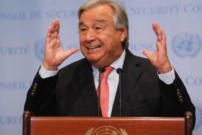 Antonio Guterres secretário Geral da ONU