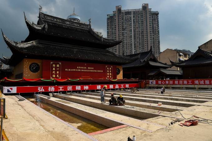 Templo Buda de Jade na China