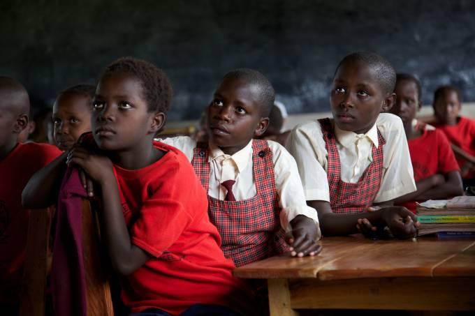 Estudantes quenianas