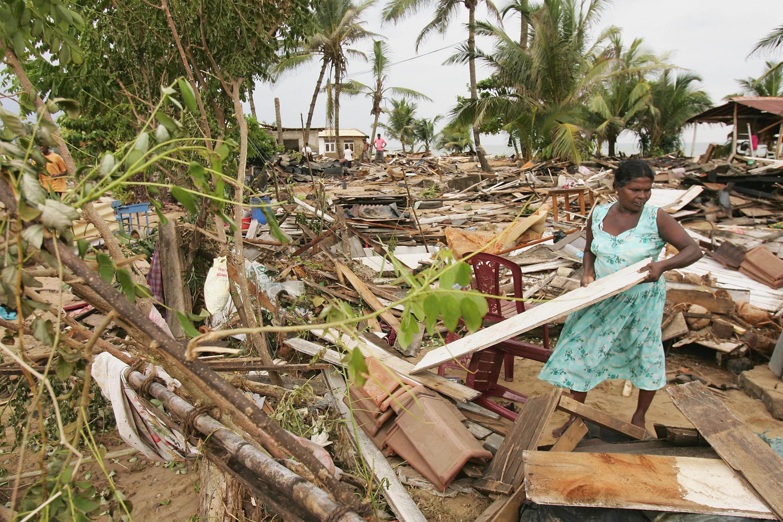 Terremoto no Sri Lanka