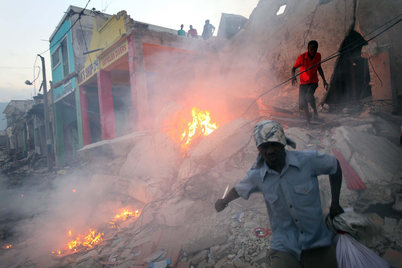 Terremoto no Haiti