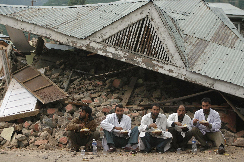Terremoto na Caxemira