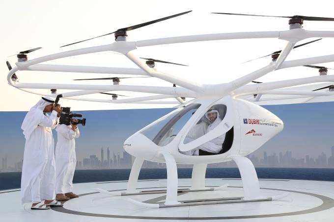 Táxi voador de Dubai