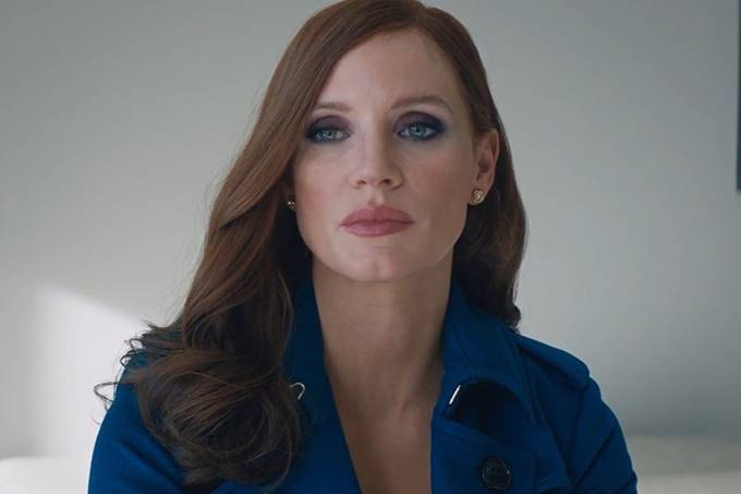Jessica Chastain em 'Molly's Game'