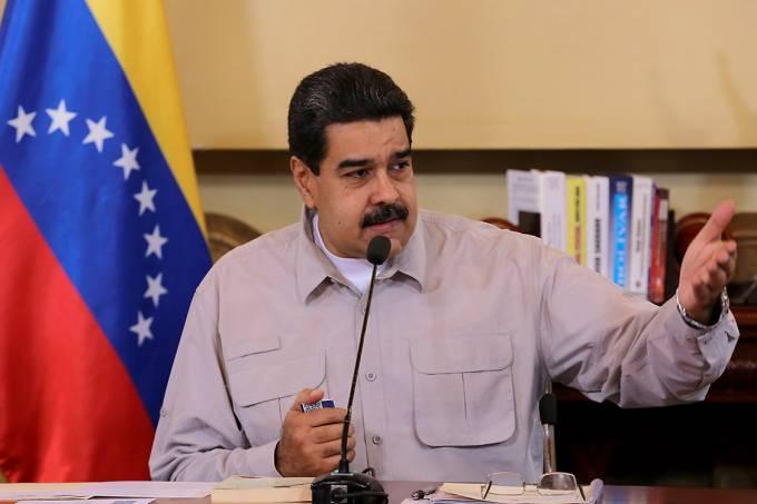 O presidente da Venezuela, Nicolás Maduro – 25/09/2017