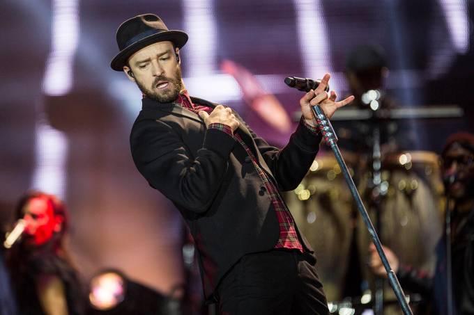 O cantor americano Justin Timberlake20170918050501