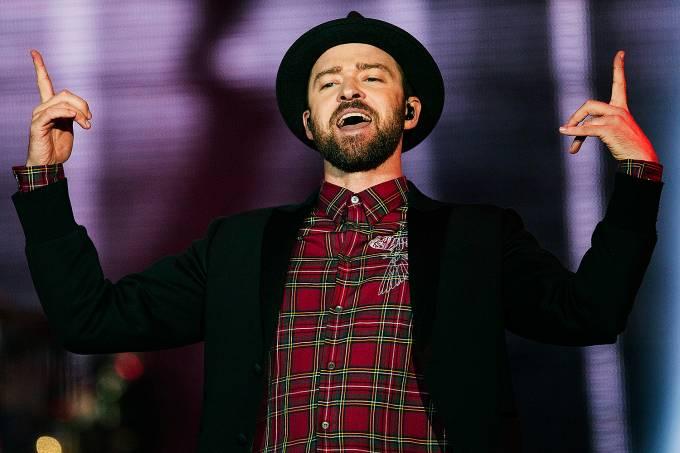 O cantor americano Justin Timberlake20170918050601