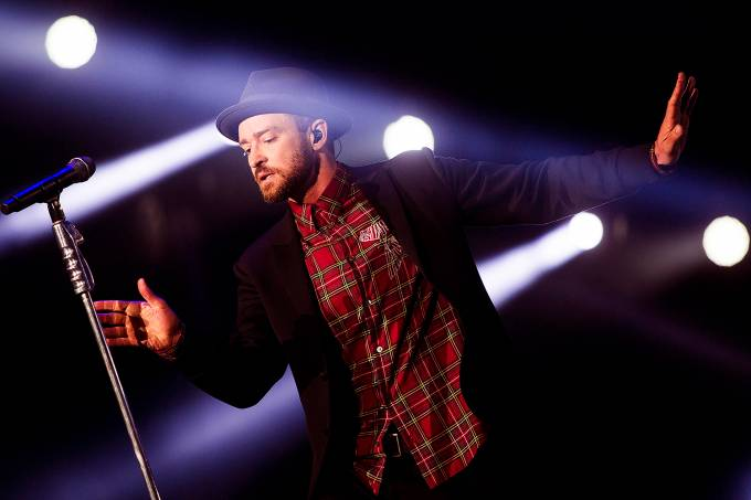 O cantor americano Justin Timberlake20170918051001