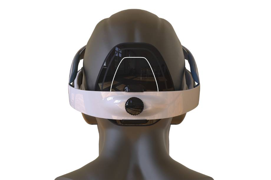 Novo modelo do nGoggle, que será utilizado nos próximos estudos.