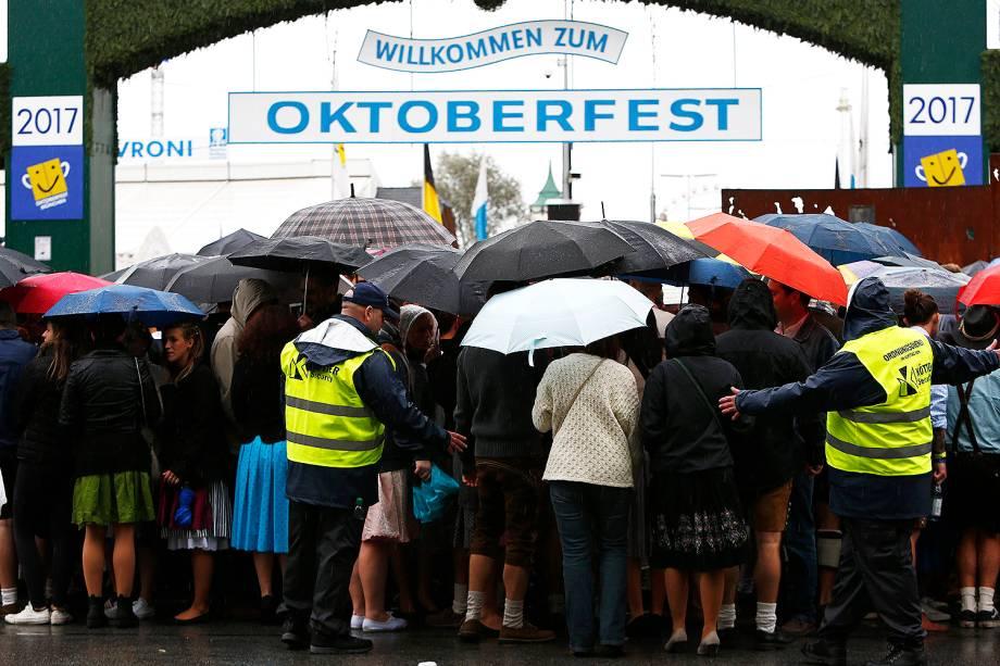 Oktoberfest tem segurança reforçada em Munique na Alemanha - 16/09/2017