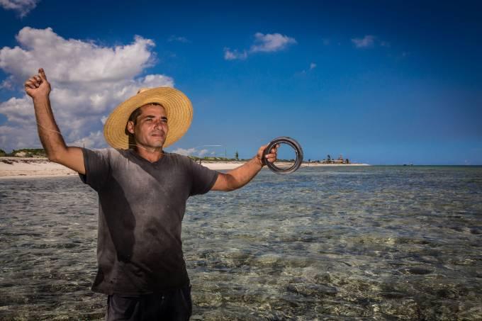 Pescador em Cuba Camaguey