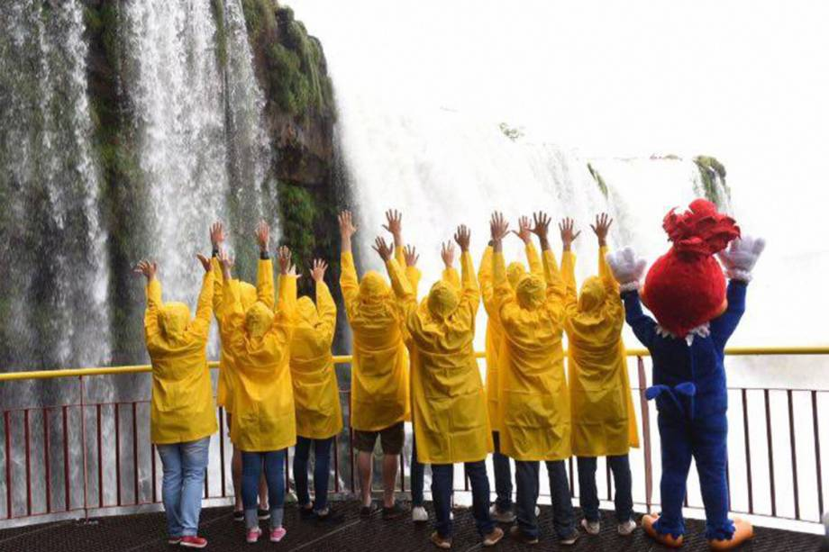 Tour do Pica-Pau em oito cidades brasileiras pra divulgação do filme