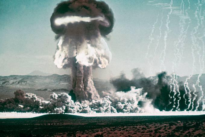 Primeira bomba de hidrogênio testada nas Ilhas Marshall