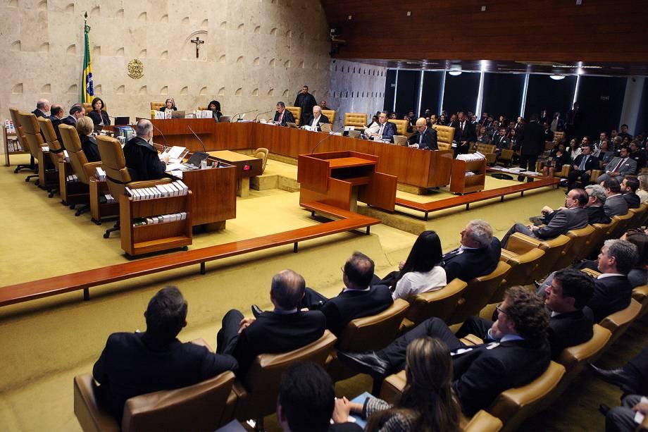 Sessão plenária do STF marcada pela estreia da nova PGR Raquel Dodge, que foi homenageada pela presidente do Supremo, ministra Carmen Lúcia - 20/09/2017