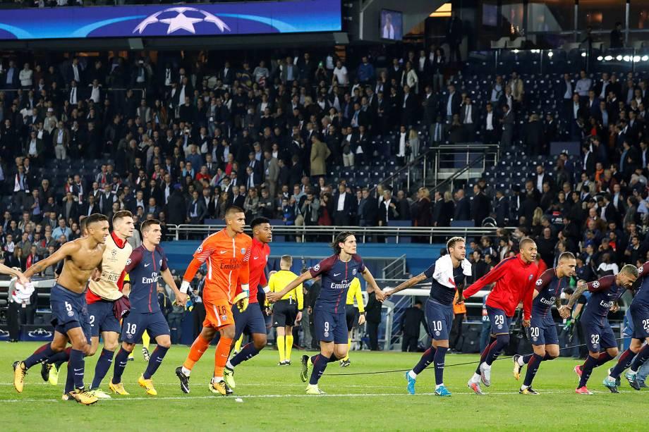 PSG vence o Bayern de Munique no estádio Parc des Princes, pela 2ª rodada da fase de grupos da Liga dos Campeões - 27/09/2017