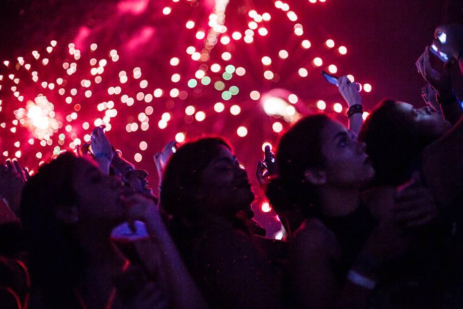 Público durante o show de Ivete Sangalo, no Rock in Rio